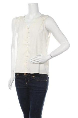 Дамска риза Vero Moda, Размер M, Цвят Екрю, Полиестер, Цена 36,75лв.