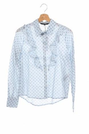 Γυναικείο πουκάμισο Vero Moda, Μέγεθος XS, Χρώμα Λευκό, Βαμβάκι, Τιμή 22,81€