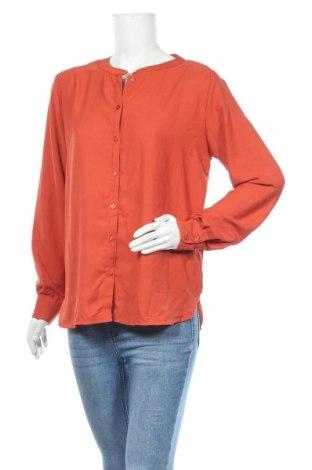 Дамска риза Vrs Woman, Размер L, Цвят Оранжев, Полиестер, Цена 14,18лв.
