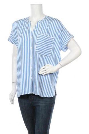 Дамска риза Vrs Woman, Размер S, Цвят Син, Вискоза, Цена 9,66лв.