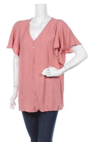 Дамска риза Zizzi, Размер XXL, Цвят Розов, Вискоза, Цена 6,25лв.