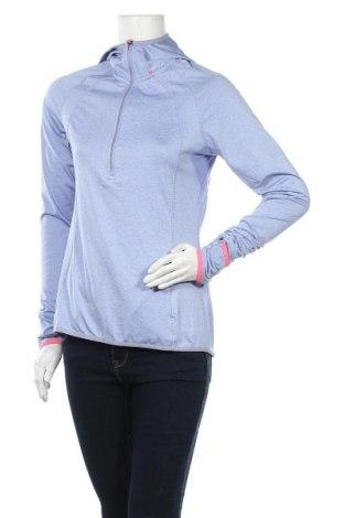 Дамска спортна блуза Active By Tchibo, Размер S, Цвят Лилав, 92% полиестер, 8% еластан, Цена 14,18лв.