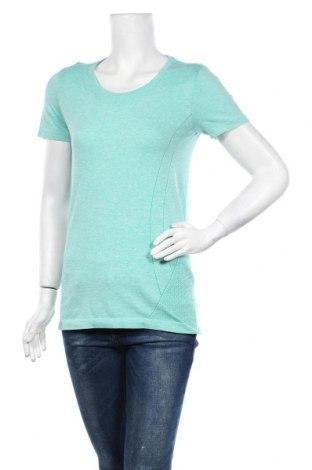 Дамска тениска Active By Tchibo, Размер S, Цвят Зелен, 61% полиестер, 39% полиамид, Цена 14,96лв.