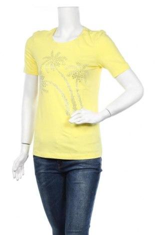 Дамска тениска Christian Berg, Размер M, Цвят Жълт, Цена 15,60лв.