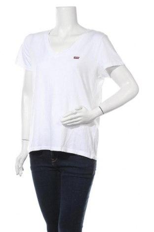 Γυναικείο t-shirt Levi's, Μέγεθος L, Χρώμα Λευκό, 100% βαμβάκι, Τιμή 22,81€