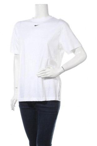 Γυναικείο t-shirt Nike, Μέγεθος S, Χρώμα Λευκό, Βαμβάκι, Τιμή 25,97€