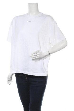 Γυναικείο t-shirt Nike, Μέγεθος XL, Χρώμα Λευκό, 100% βαμβάκι, Τιμή 25,97€