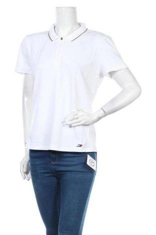 Γυναικείο t-shirt Tommy Hilfiger, Μέγεθος XL, Χρώμα Λευκό, Πολυεστέρας, Τιμή 31,20€