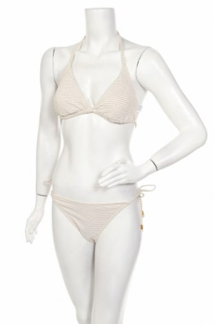 Costum de baie de damă Mint & Berry, Mărime L, Culoare Alb, 79% poliamidă, 11% fire din metal, 10% elastan, Preț 118,29 Lei
