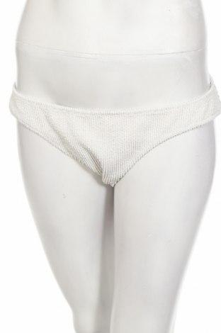 Costum de baie de damă Weekday, Mărime L, Culoare Alb, 92% poliester, 8% elastan, Preț 34,54 Lei