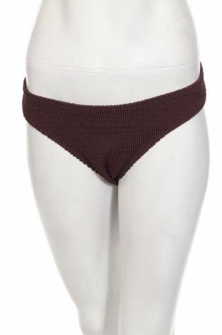 Costum de baie de damă Weekday, Mărime L, Culoare Maro, 92% poliester, 8% elastan, Preț 34,54 Lei