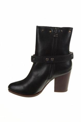 Дамски боти Desigual, Размер 39, Цвят Черен, Еко кожа, Цена 189,00лв.