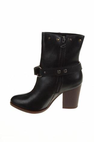 Дамски боти Desigual, Размер 37, Цвят Черен, Еко кожа, Цена 189,00лв.