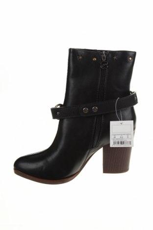 Дамски боти Desigual, Размер 40, Цвят Черен, Еко кожа, Цена 189,00лв.