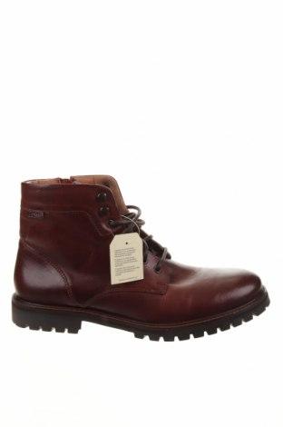Мъжки обувки Levi's, Размер 44, Цвят Кафяв, Естествена кожа, Цена 229,00лв.