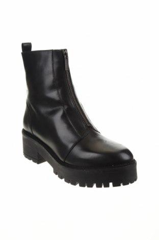Дамски боти Zign, Размер 41, Цвят Черен, Естествена кожа, Цена 159,00лв.