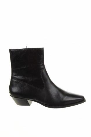 Дамски боти Zign, Размер 42, Цвят Черен, Естествена кожа, Цена 149,00лв.