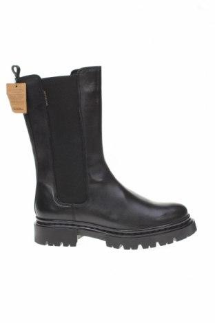 Γυναικείες μπότες Bullboxer, Μέγεθος 39, Χρώμα Μαύρο, Γνήσιο δέρμα, κλωστοϋφαντουργικά προϊόντα, Τιμή 49,33€