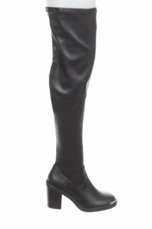 Дамски ботуши Even&Odd, Размер 40, Цвят Черен, Еко кожа, Цена 59,25лв.