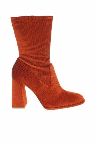Дамски ботуши Even&Odd, Размер 41, Цвят Оранжев, Текстил, Цена 79,00лв.
