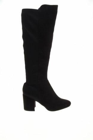 Дамски ботуши New Look, Размер 38, Цвят Черен, Текстил, Цена 78,00лв.