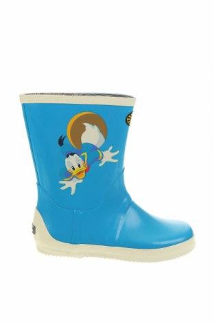 Детски обувки Superga, Размер 32, Цвят Син, Полиуретан, Цена 62,41лв.
