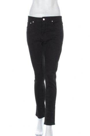 Дамски дънки, Размер S, Цвят Черен, Цена 21,21лв.