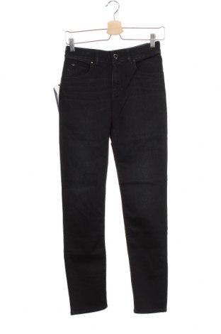 Γυναικείο Τζίν Armani Jeans, Μέγεθος XS, Χρώμα Μαύρο, 76% βαμβάκι, 24% ελαστάνη, Τιμή 131,06€
