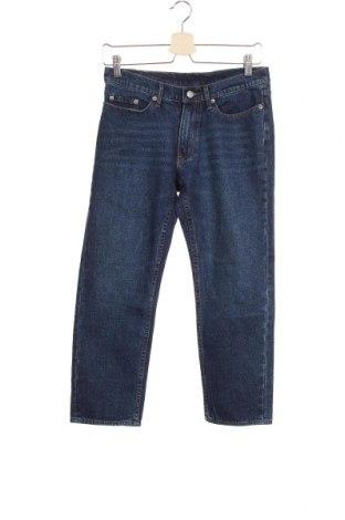 Дамски дънки Cheap Monday, Размер XS, Цвят Син, 99% памук, 1% еластан, Цена 25,20лв.