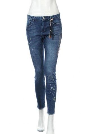 Γυναικείο Τζίν Desigual, Μέγεθος M, Χρώμα Μπλέ, 99% βαμβάκι, 1% ελαστάνη, Τιμή 65,33€