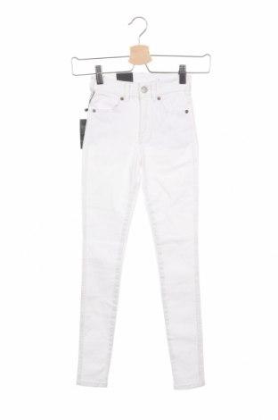 Γυναικείο Τζίν Dr. Denim, Μέγεθος XXS, Χρώμα Λευκό, 98% βαμβάκι, 2% ελαστάνη, Τιμή 23,97€