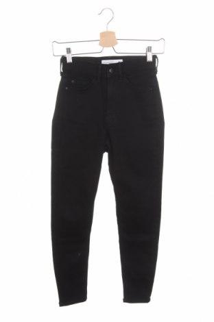 Дамски дънки Even&Odd, Размер XS, Цвят Черен, 75% памук, 22% полиестер, 3% еластан, Цена 16,23лв.