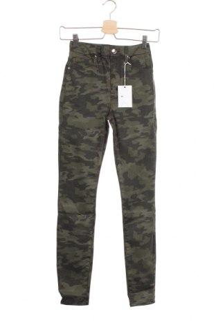 Дамски дънки Good American, Размер XS, Цвят Зелен, 91% памук, 9% еластан, Цена 118,50лв.