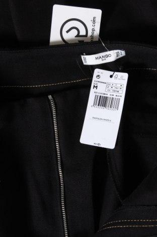 Дамски дънки Mango, Размер M, Цвят Черен, Памук, Цена 27,09лв.