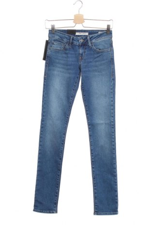 Дамски дънки Mavi, Размер XS, Цвят Син, 98% памук, 2% еластан, Цена 17,92лв.