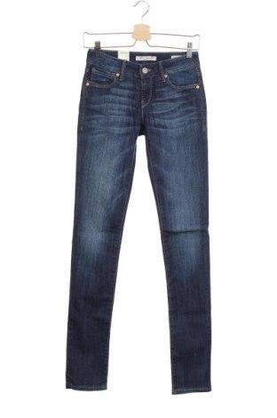 Дамски дънки Mavi, Размер XS, Цвят Син, 69% памук, 31% еластан, Цена 21,88лв.