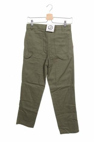 Дамски дънки Monki, Размер XS, Цвят Зелен, Памук, Цена 19,16лв.