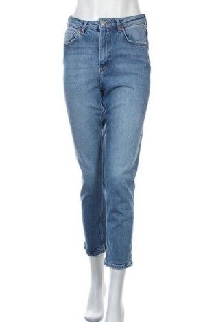 Дамски дънки Perfect Jeans By Gina Tricot, Размер S, Цвят Син, 98% памук, 2% еластан, Цена 44,25лв.
