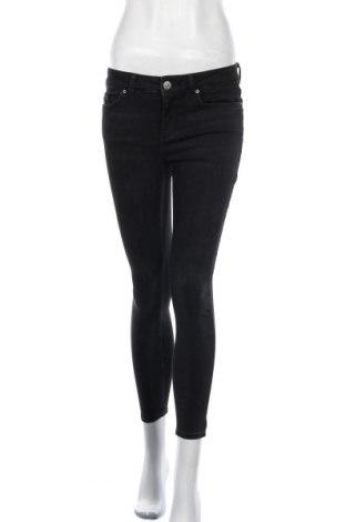 Γυναικείο Τζίν Pieces, Μέγεθος S, Χρώμα Μαύρο, 89% βαμβάκι, 9% πολυεστέρας, 2% ελαστάνη, Τιμή 25,52€