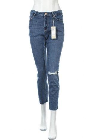 Γυναικείο Τζίν Pieces, Μέγεθος XL, Χρώμα Μπλέ, 93% βαμβάκι, 5% πολυεστέρας, 2% ελαστάνη, Τιμή 26,68€