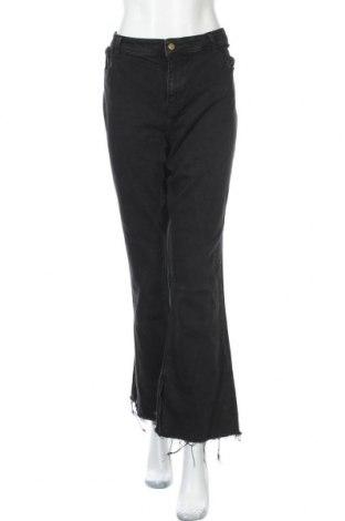 Γυναικείο Τζίν Pieces, Μέγεθος XXL, Χρώμα Μαύρο, 98% βαμβάκι, 2% ελαστάνη, Τιμή 22,81€