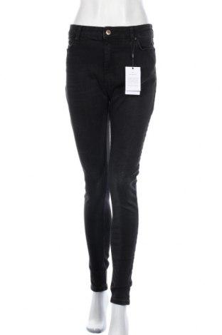 Γυναικείο Τζίν Pieces, Μέγεθος XL, Χρώμα Μαύρο, 91% βαμβάκι, 7% πολυεστέρας, 2% ελαστάνη, Τιμή 30,54€