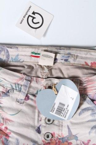 Дамски дънки Please, Размер S, Цвят Многоцветен, 75% памук, 22% полиестер, 3% еластан, Цена 13,63лв.
