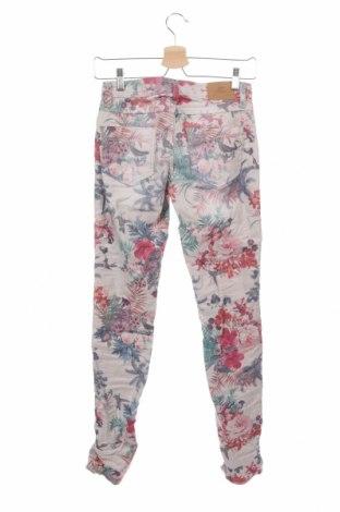 Дамски дънки Please, Размер XXS, Цвят Многоцветен, 75% памук, 22% полиестер, 3% еластан, Цена 18,06лв.