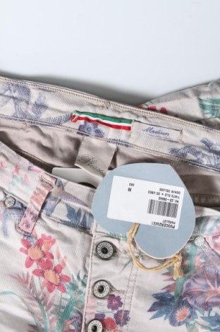 Дамски дънки Please, Размер M, Цвят Многоцветен, 75% памук, 22% полиестер, 3% еластан, Цена 18,06лв.