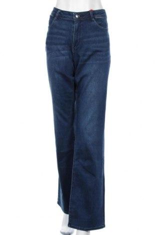 Dámské džíny  S.Oliver, Velikost XL, Barva Modrá, 91% bavlna, 7% polyester, 2% elastan, Cena  502,00Kč