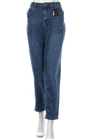 Дамски дънки Simply Be, Размер XL, Цвят Син, 66% памук, 21% полиестер, 12% вискоза, 1% еластан, Цена 31,20лв.
