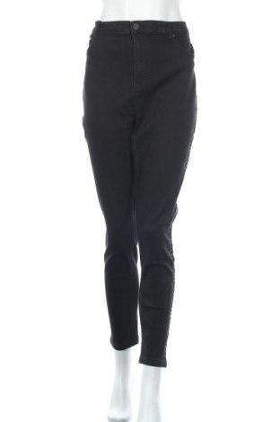 Дамски дънки Simply Be, Размер XXL, Цвят Черен, 70% памук, 20% полиестер, 9% вискоза, 1% еластан, Цена 32,86лв.