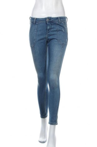 Дамски дънки Teddy Smith, Размер S, Цвят Син, 92% памук, 6% полиестер, 2% еластан, Цена 24,84лв.