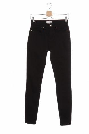 Γυναικείο Τζίν Tommy Hilfiger, Μέγεθος S, Χρώμα Μαύρο, 98% βαμβάκι, 2% ελαστάνη, Τιμή 44,04€
